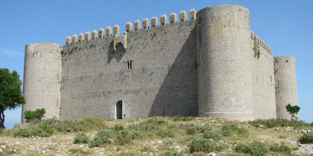 Costa Brava cultural heritage - Castle of Montgrí