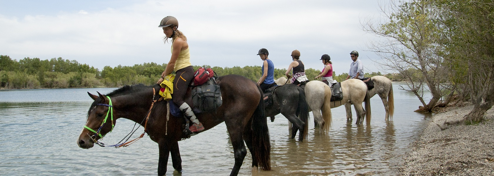 Activities on land in Costa Brava - Horse riding